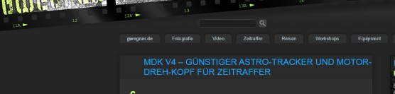 MDK V4 /Astro – Test von Gunther Wegner